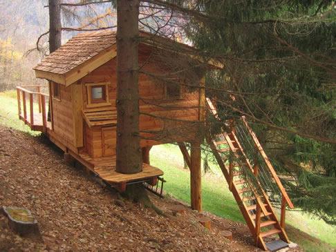 cabane et chalet dans les arbres 224 jean d aulps portes du soleil